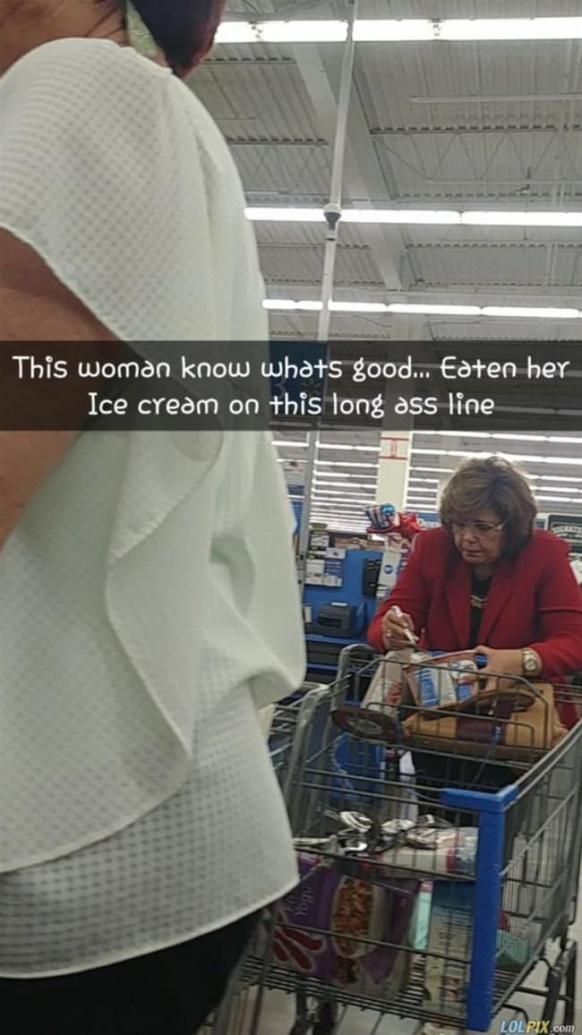 this lady knows what is good
