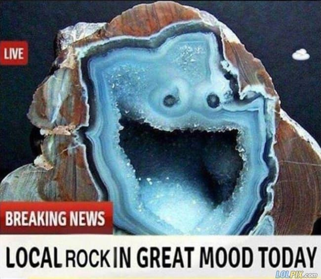 local rock in a great mood