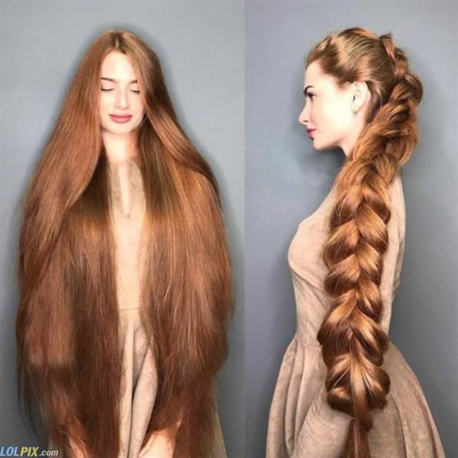that is some long hair