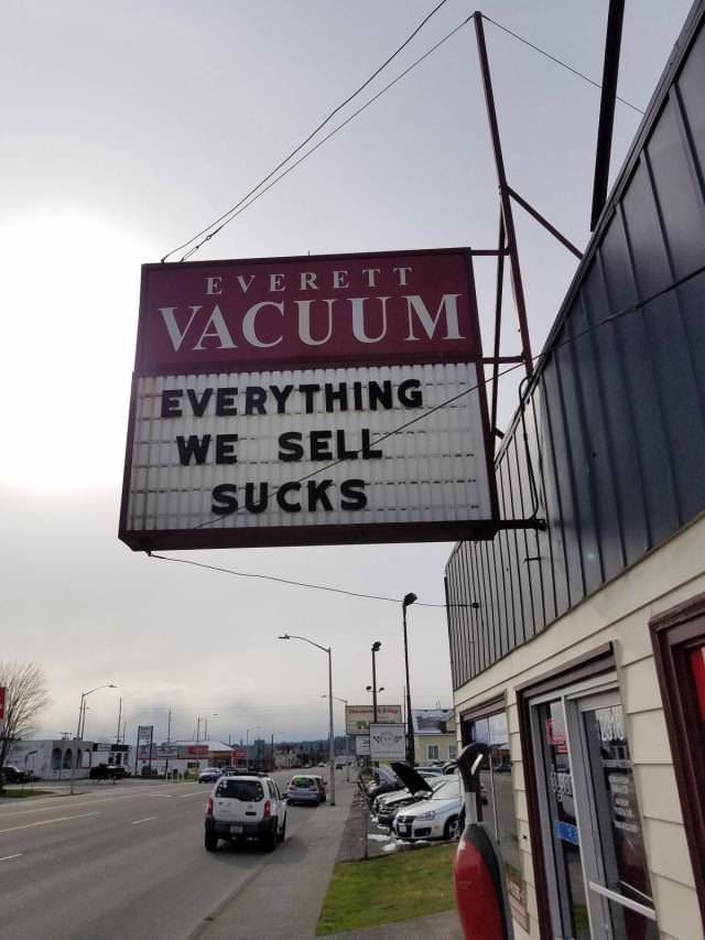 everything we sell sucks