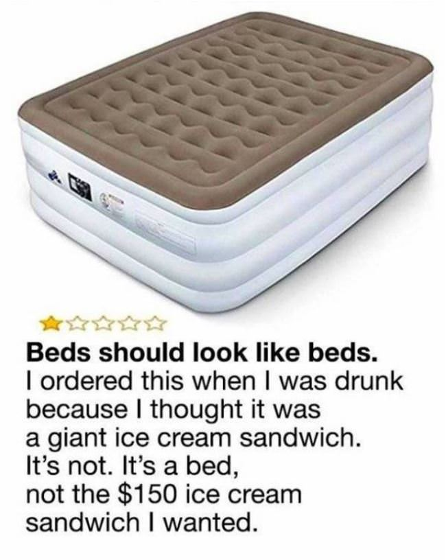beds need to look like beds