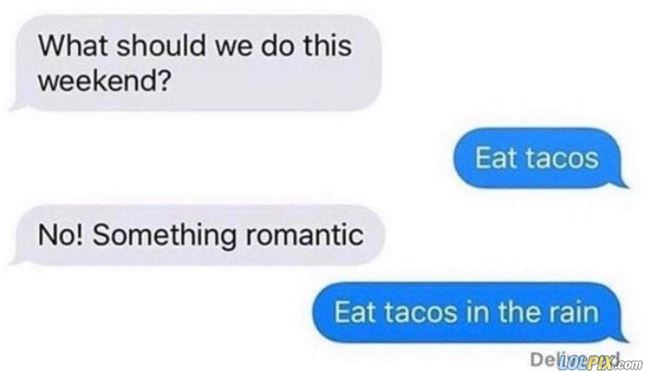 can we do something romantic
