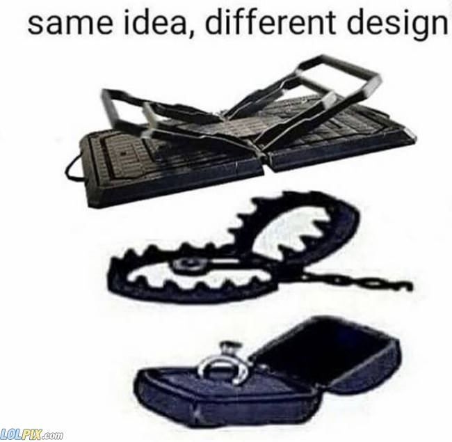 same idea different designs