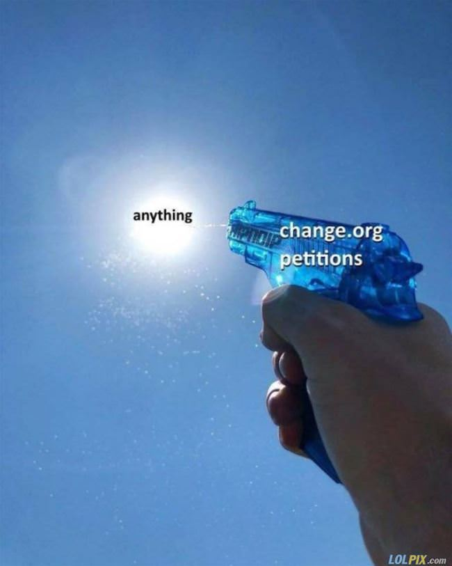 change petitions