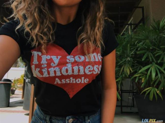 try some kindness