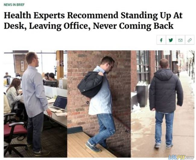 health experts recommend