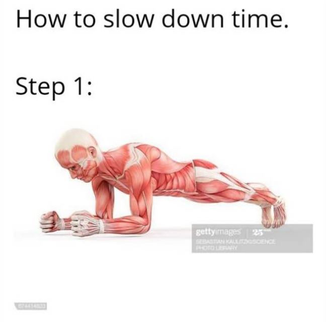 slow down time