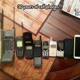30 years of phones