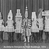architects dress as their buildings
