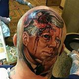 amazing head tattoo