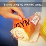 my gym card