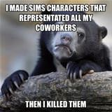 sims characters