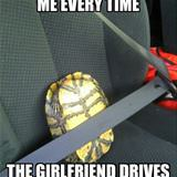 when the girlfriend drives