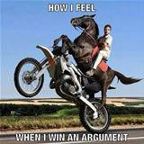 winning an argument