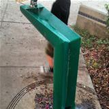 doggy drinking fountain