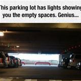 awesome parking lot
