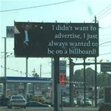 didnt want to advertise