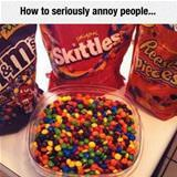 annoy people