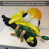 balloon animals master