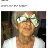 cant see haters