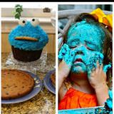 cookie smash cake