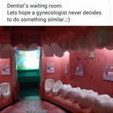 dentist waiting room