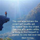 follow the crowd