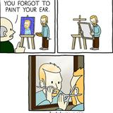 forgot your ear