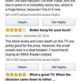 helpful television reviews