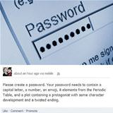 how passwords are now