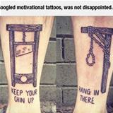 motivational tattoo