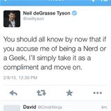 neil degrasse geek