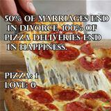 pizza vs marriage