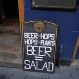 proof beer is salad