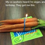 vegan birthday