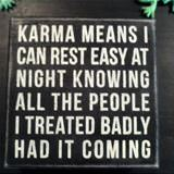what karma means