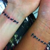 friends tattoos