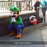 luigi couldnt take it