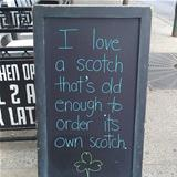 nice old scotch