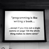 programming is like