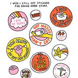 stickers for doing stuff