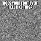 your foot