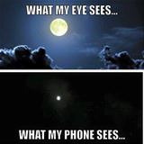 eyes vs phone