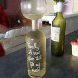 finally a wine glass