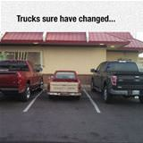 trucks have changed