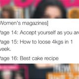 womens magazine logic