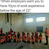 10 years work experience