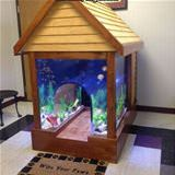 fish tank dog house