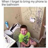forget my cell phone