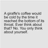 giraffe coffee